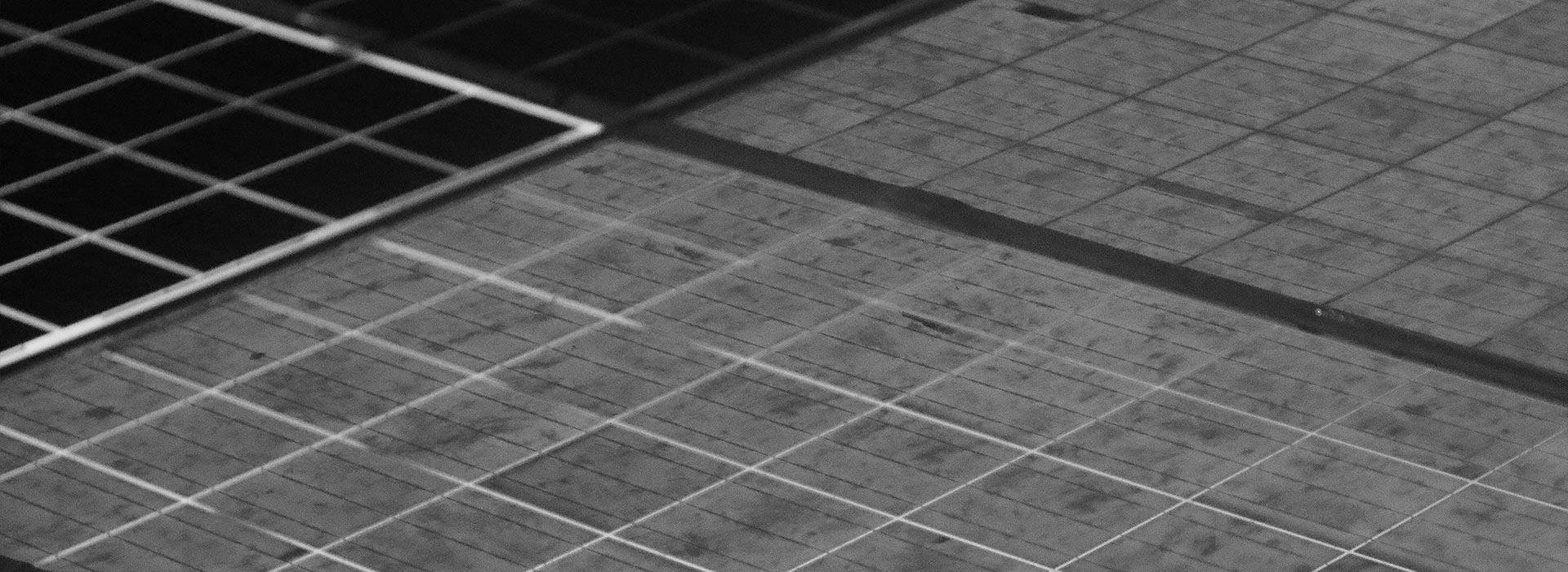 microcracks - elettroluminescenza EL outdoor - moduli fotovoltaici
