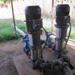 accumulo idrico - villaggio africa - pompaggio acqua