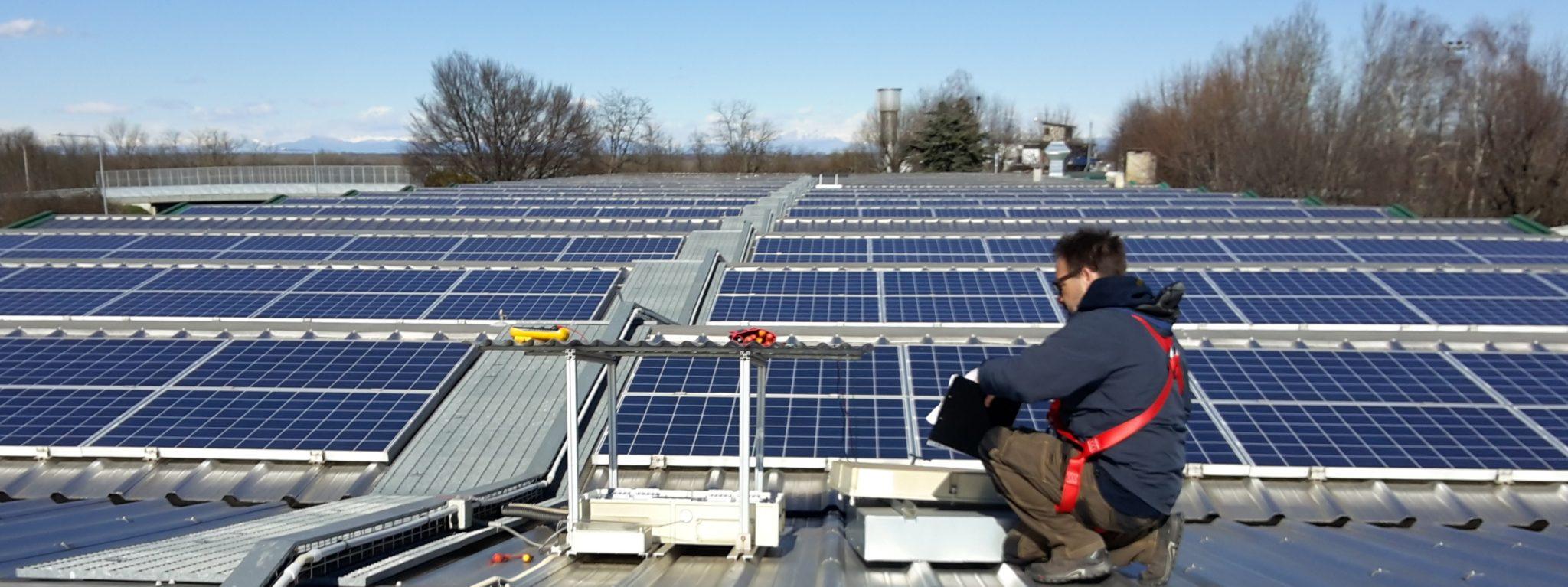 checkup fotovoltaico