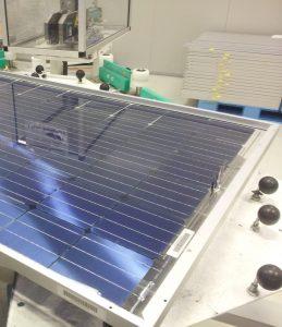 PV modules production studio di fattibilità MRP