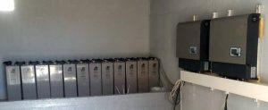 Accumulo elettrochimico MRP illuminazione Libano Diga di Chabrough