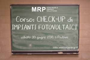 Corso check-up MRP